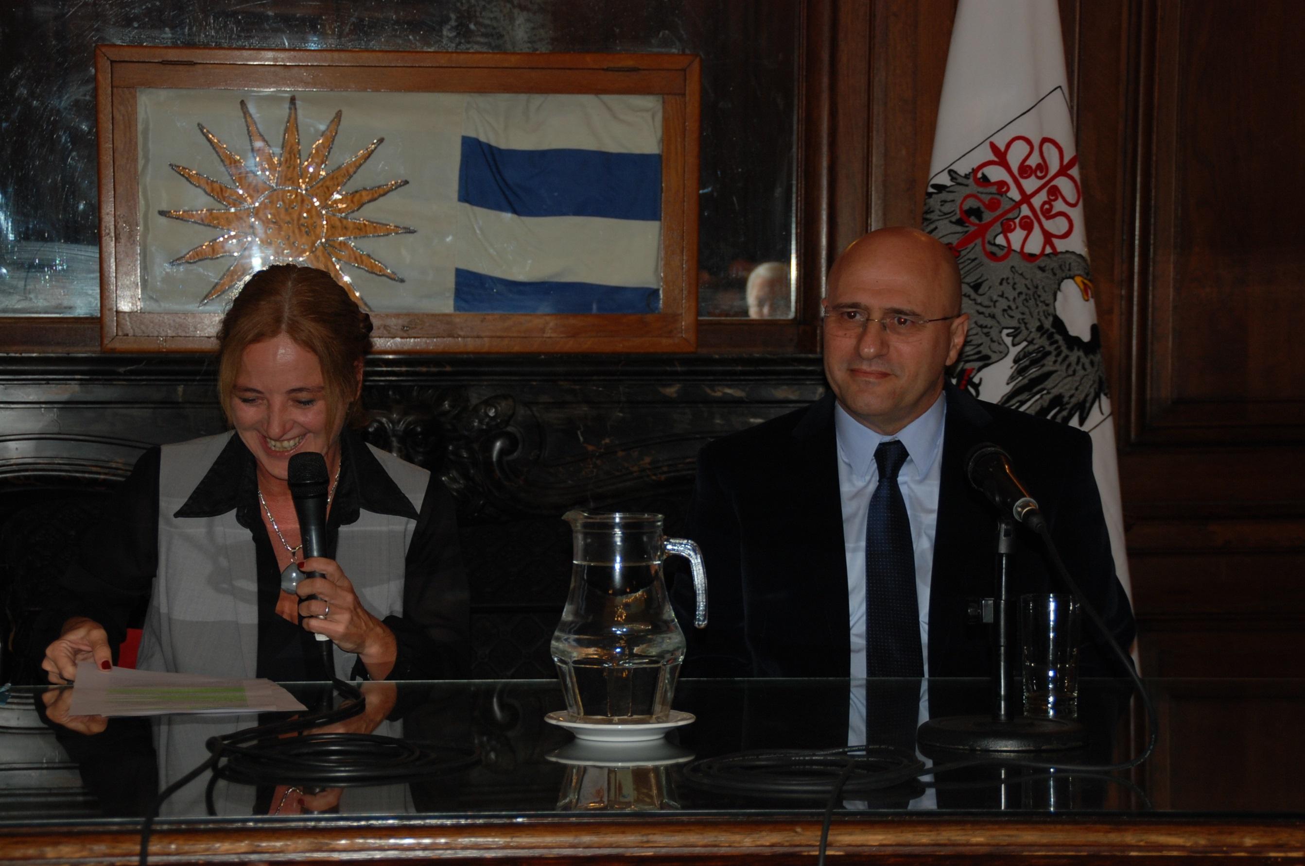 Destacada conferencia en la Legislatura Porteña
