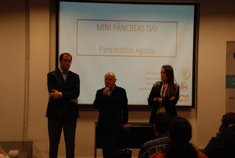 Se está desarrollando el primer encuentro nacional sobre patología pancreática pediátrica