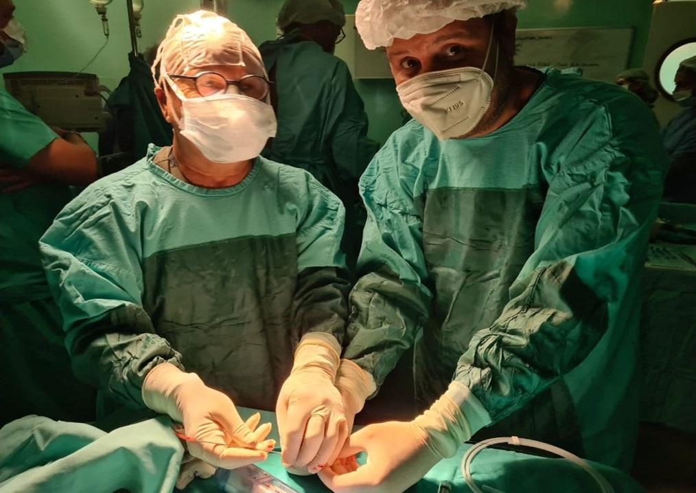 Exitosa intervención cardíaca fetal de alta complejidad