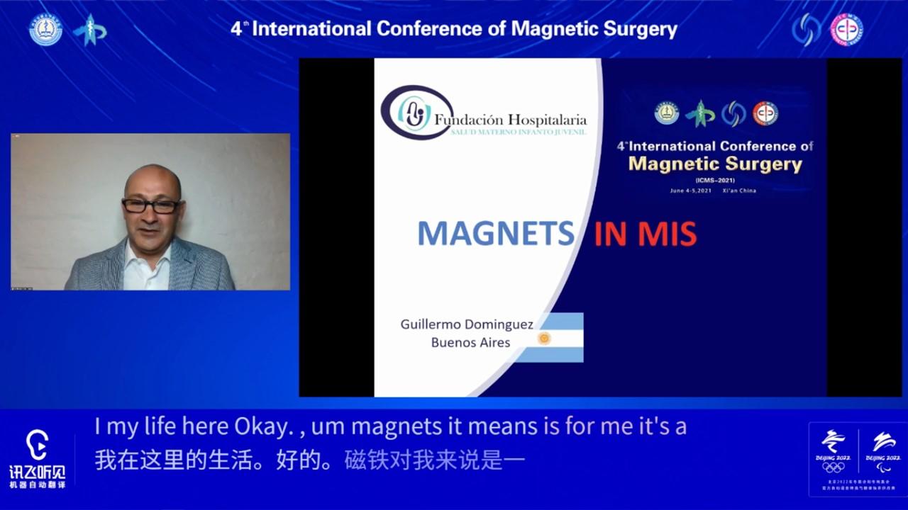 Destacada presencia en conferencia organizada en China